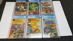 Superman's Pal Jimmy Olsen  141 143 144 145 147 CGC 9.6  KIRBY ADAMS 1972 DC