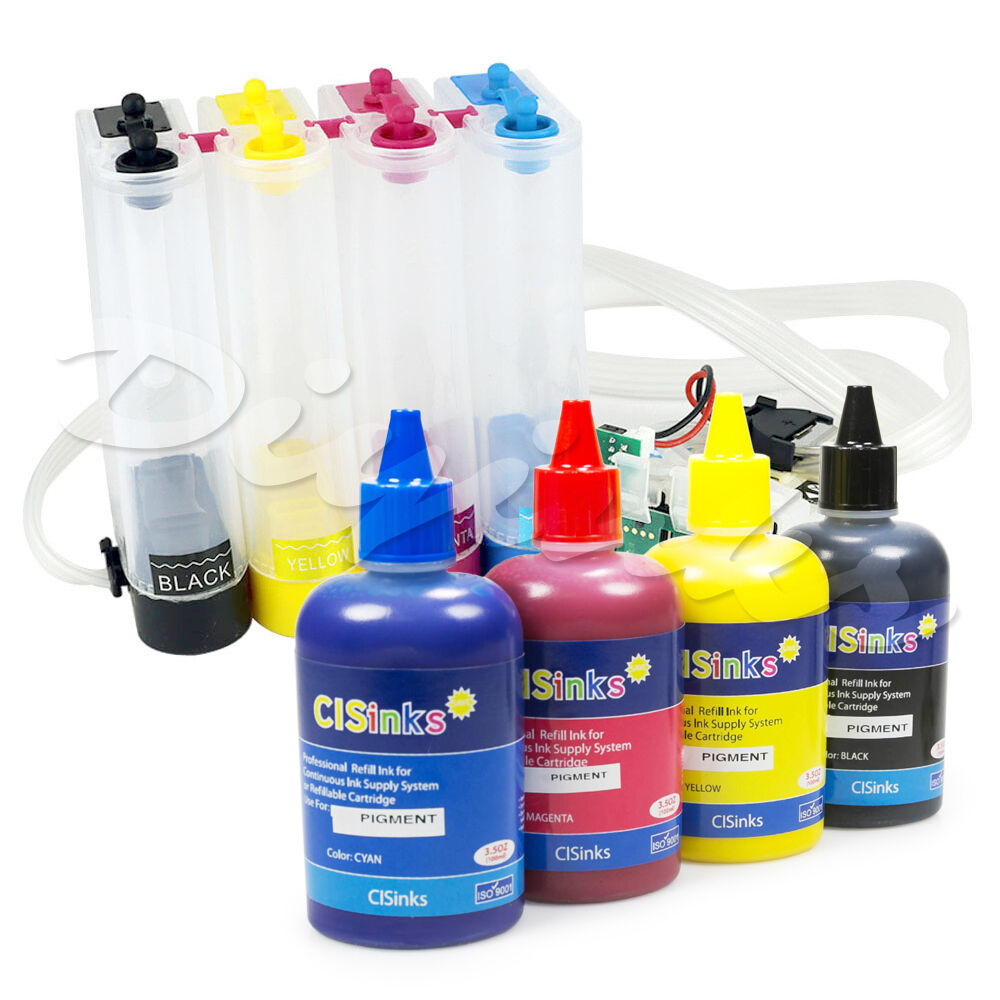 Empty Continuous Ink System R2 Pigment Ink Set For Epson