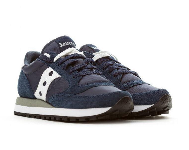 SAUCONY JAZZ ORIGINAL blu Scarpa da ginnastica sneaker 2044-316 blu bianco Scarpe classiche da uomo
