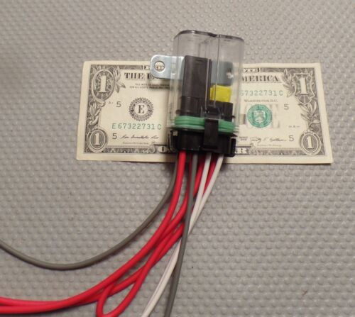 Waterproof Sealed Fuse Holder 20 amp Relay Tall Cover 12 V Car Truck ATV