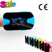 Finger Pulse Oximeter Spo2 Pr Meter Blood Oxygen Saturation Tester Us Free Ship