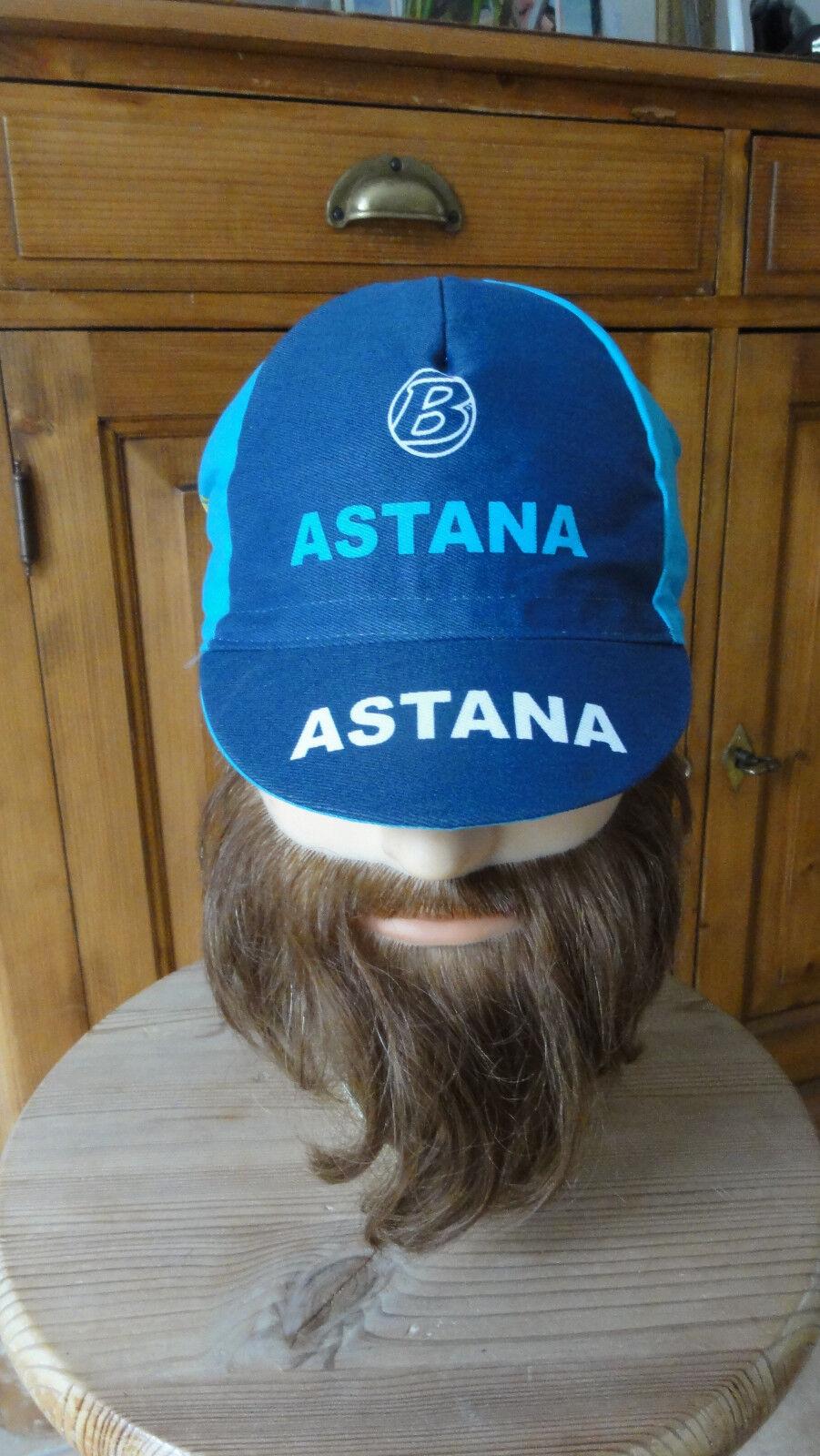 Ancienne casquette casquette casquette cyclisme ASTANA equipe tour de france vélo a0a9d0