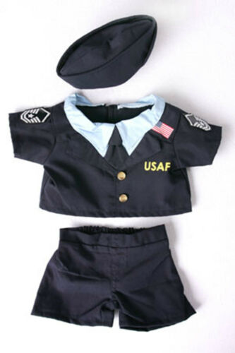 Teddy Bear AIR FORCE Uniform CLOTHES Fit 14-18 Build-a-bear !!NEW!!
