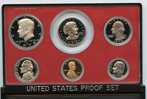 1979-United-States-Proof-Coin-Set-US-Mint-Genuine-Authentic