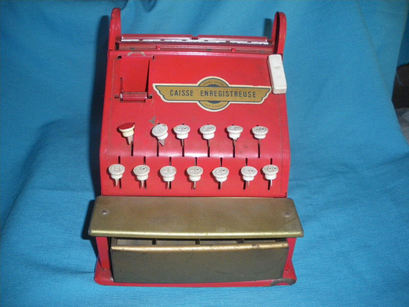 460A Vintage Rollet Case enregitreuse Grocery Merchantable Game Toy old