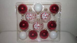 Christmas by Krebs Gold Crowns Red/White/Clear Snowflakes ...