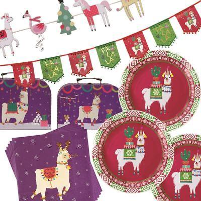 Llama Alpaca Festa Di Natale Arredamento Accessori Bunting Piastre-mostra Il Titolo Originale Rafforzare L'Intero Sistema E Rafforzarlo