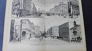 Raisonnable 1887/88 11 Vienne Kärtnerstraße-afficher Le Titre D'origine Doux Et LéGer