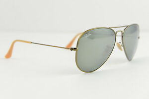f38d8ecf627f6 Ray-Ban AVIATOR LARGE METAL sunglasses RB3025 167 58-14 135 Bronze ...