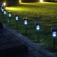 LED Solarleuchte Lampe Leuchte Garten Solarlampe Wegbeleuchtung Außenleuchte Neu