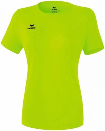 Erima Funktions Teamsport T-Shirt hellgrün Damen NEU 72078