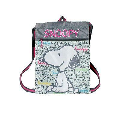 Sportbeutel Sporttasche Gym Bag Strand & Schwimmbad Kinder Tasche Peanuts Snoopy