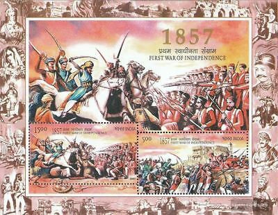 India Block44 (complete.issue.) Unmounted Mint / Never Hinged 2007 Uprising