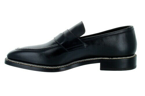 Emilio Franco Penny Loafer Black black shoes