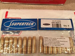 Supertech Valve Guides and Stem Seals Honda /& Acura K20 K20A K20Z K24 K24A