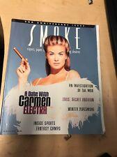 SMOKE Cigar Magazine WINTER 1997 CARMEN ELECTRA Cover