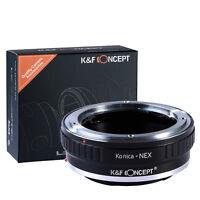 Konica AR Objektiv Adapter mount für Sony Alpha A7 Nex 7 6 5 5N 3 3N 3VG10E Ring