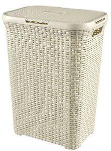 Curver-189207-Plastic-Laundry-Hamper-60-Liters-White