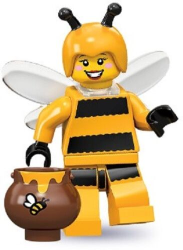 Lego 71001 Minifigures serie 10 Ragazza Costume di Ape con Barattolo Miele Nuova