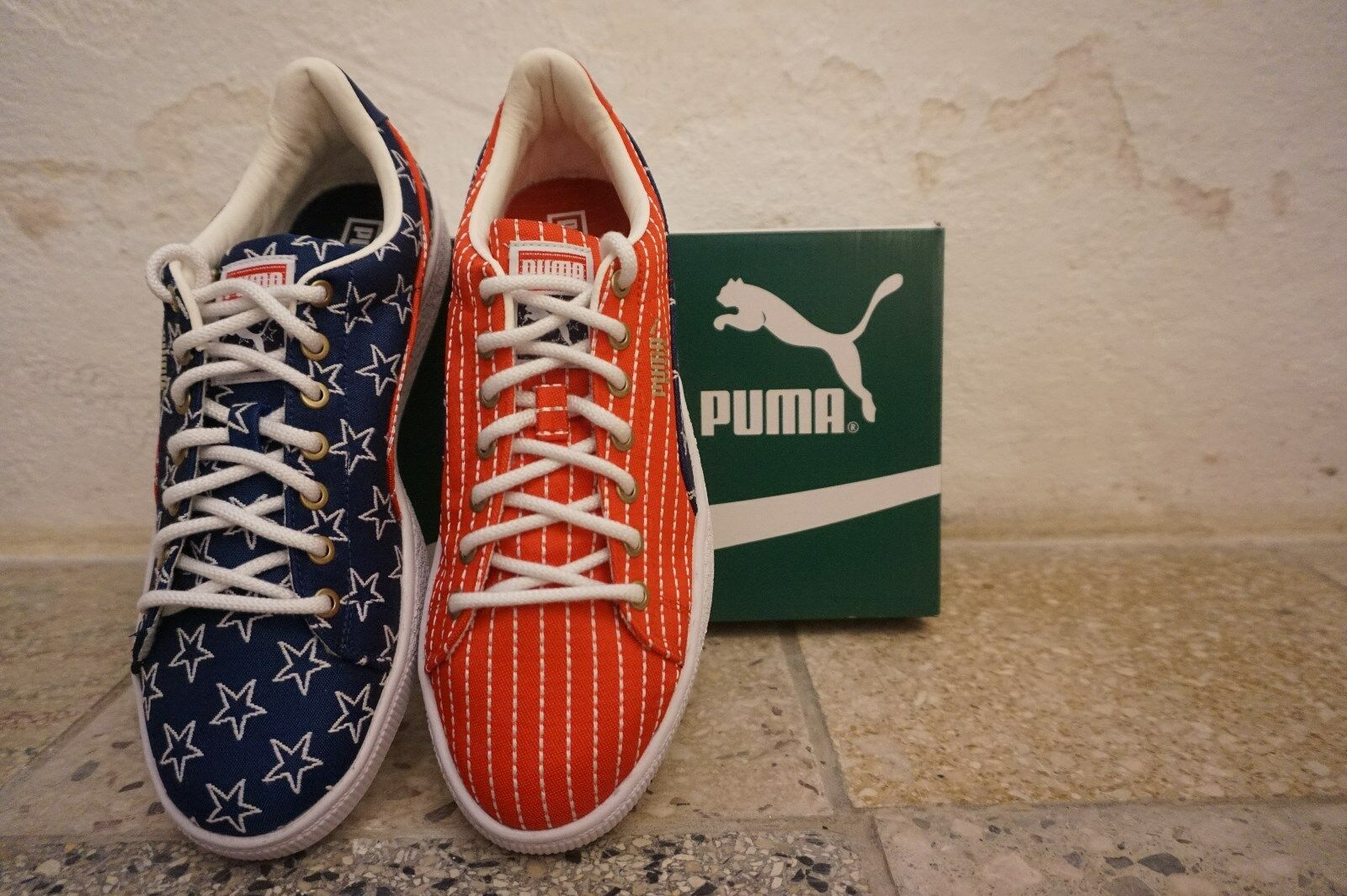 finest selection 31df4 021d5 ... PUMA PUMA PUMA Basket 4th of July-NUOVO-new-original - doubleboxed- ...