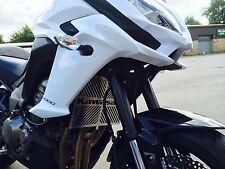Kawasaki Versys 1000 15-16 SP Engineering Brushed Stainless Radiator Cover Guard