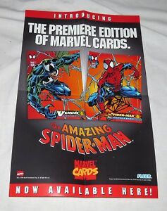 Marvel-Comics-Fleer-The-Premiere-Edition-of-marvel-Cards-Poster-1994