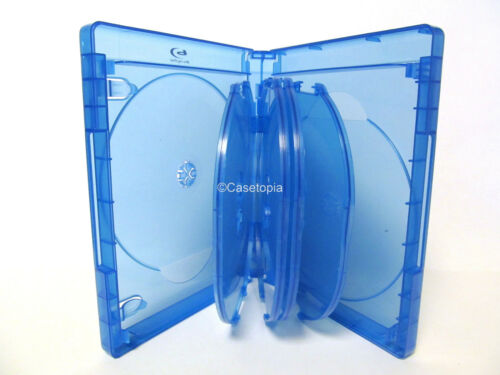 NEW 1 VIVA ELITE 10-Disc Premium Blu-ray Cases Holds 10 Discs