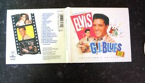 As-New-ELVIS-PRESLEY-GI-BLUES-CD-Deluxe-Collector-039-s-Version