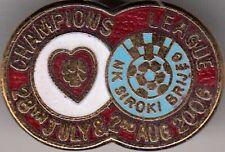 Hearts v NK Siroki Brijeg  ( CL 2006-2007 ) - lapel badge butterfly fitting