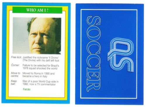 diverses équipes de joueurs Question de Sport Football Unique Football Quiz cartes