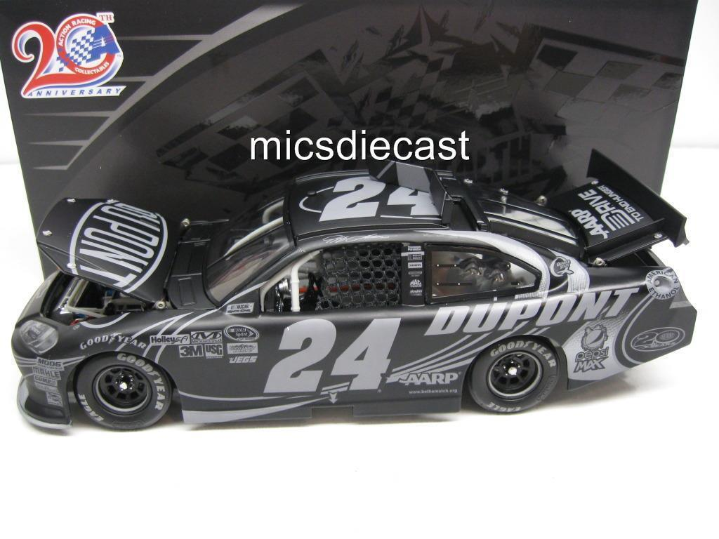 NEW Gen 5 RARE 2012 Jeff Gordon  24 Dupont Stealth Platinum Diecast 1 24 VHTF