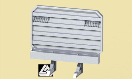 Flat Top 379 389 w900 1//32 3D Printed Headache Rack Heavy Haul Raised Roof