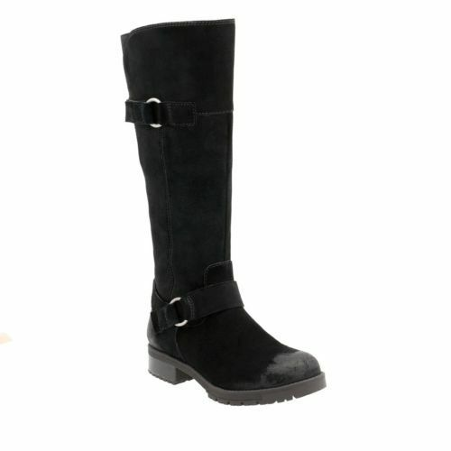 Black Boots 5 High Knee D Uk Ladies Dawn