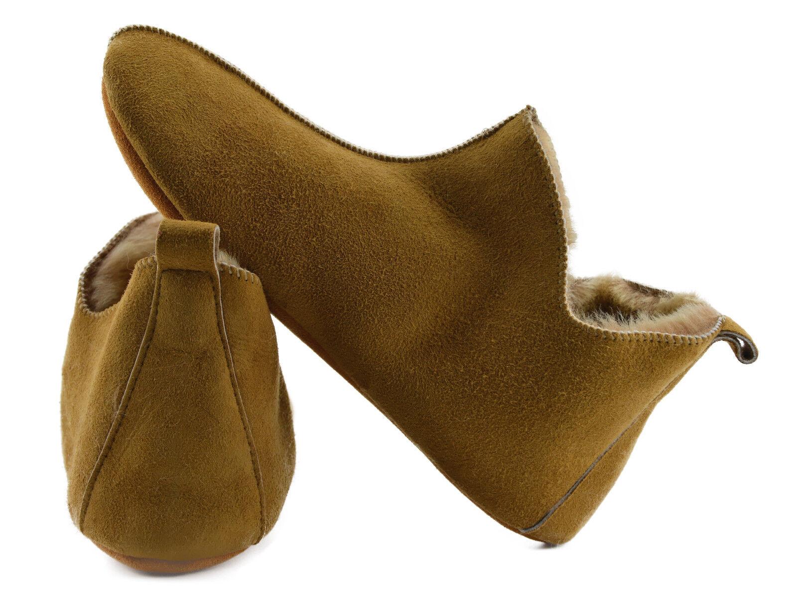 Sheepskin Slipper Uomo/Donna, House Shoes Moccasin,100% natural, Uomo/Donna, Slipper Unisex Maccasin 5f25f7