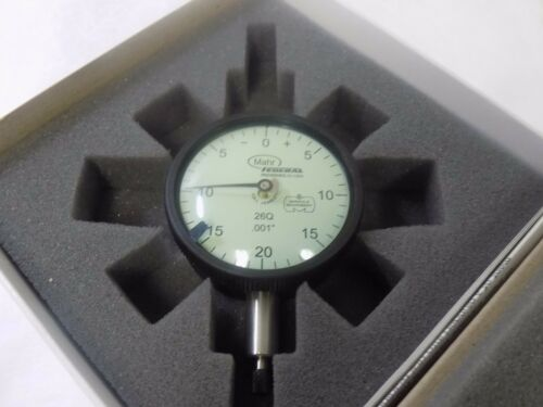 """Mahr Federal Dial Drop Indicator 0.100"""" Range 0.001"""" Grad 0.040"""" RPR 2015789"""