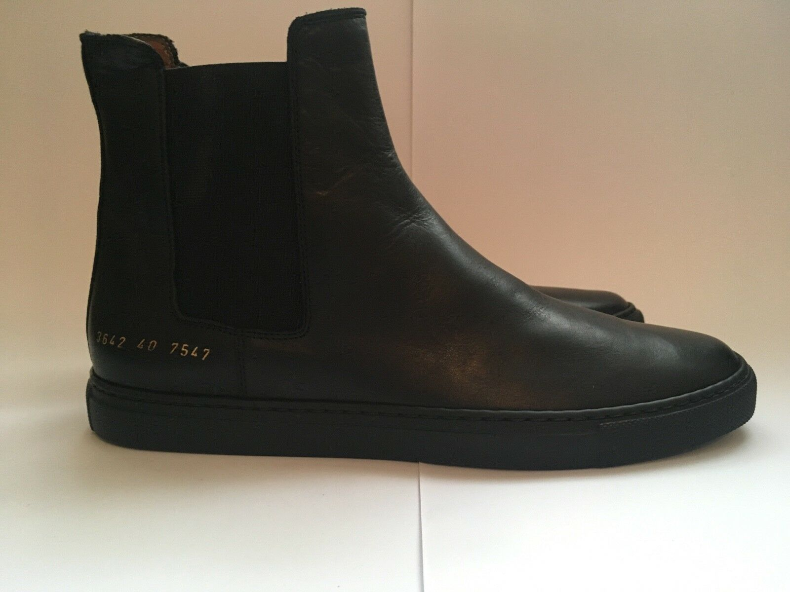COMMON PROJECTS Leather Chelsea Stiefel......Deadstock, Slip On, Turnschuhe, Unisex
