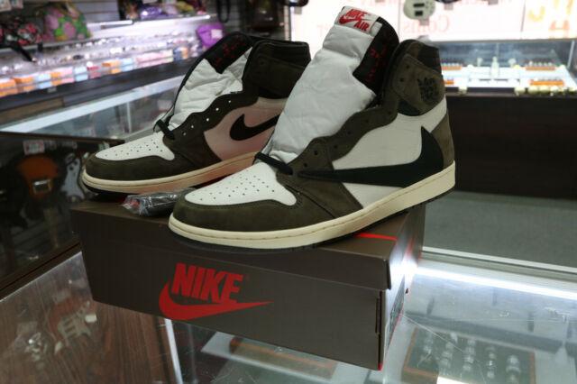 Travis Scott Jordan Cactus Jack Brown Retro 1 High Nike size 14 CD4487-100