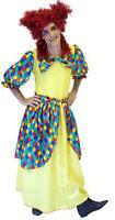 Pantomime Dame /widow Twanky Fancy Dress Costume Yellow Size L-xxxxl Stage Show