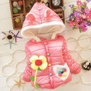 824aa9d7d328 GORGEOUS BRAND NEW 0-12 Month Girl PINK Winter COAT Jacket Snow Suit ...