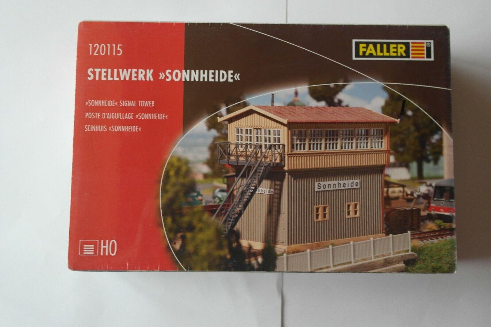 """Faller HO 120115  Stellwerk /""""Sonnheide/""""   NEU /& OVP"""