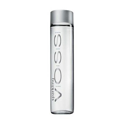 Sealed VOSS Lot Of Two Still 850 ml Artesian Water From Norway Plastic Bottles