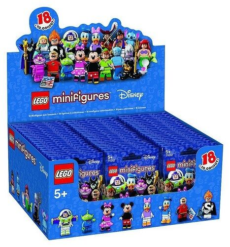 PRE-ORDER Lego DISNEY COLLECTIBLE MINIFIGURES Sealed Case/box 60 Packs 71012
