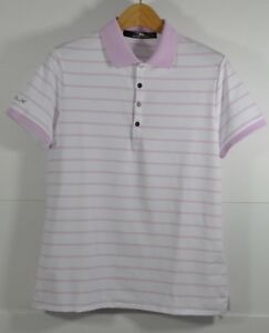 c4408fdd04 Women's Ralph Lauren RLX Golf, Striped Ultra Air Flow Jersey Polo ...