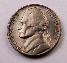 FS* //// 1 Coin 1 1947-S Jefferson Nickel //// Gem BU+ *Full Steps