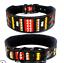 thumbnail 18 - Heavy-Duty-Dog-Collar-2-034-Width-Reflective-Dog-Collar-Adjustable-Padded-LARGE-DOG