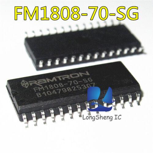 32Kx8 70Ns 5V NEW 5PCS FM1808-70-SG SOP-28 F-RAM 256K