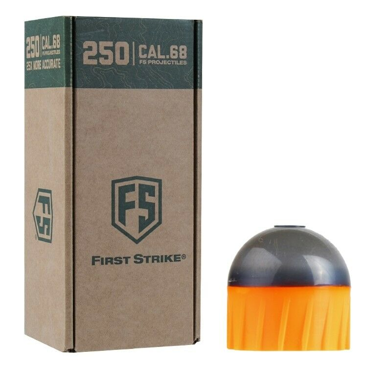 Tiberius Arms First Strike Paintballs 250 Schuss Big-Box (grau/blau)