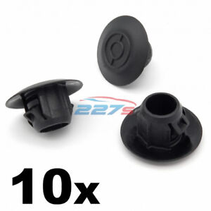 10x-Sideskirt-amp-Sill-Moulding-Plastic-Clips-for-Toyota-Land-Cruiser-and-Prado