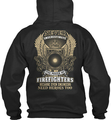 Aggressiv Supersoft Firefighters - Never Underestimate The Power Bequemer Kapuzenpullover