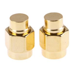 2pcs-2W-6GHz-50-ohm-SMA-Male-RF-Coaxial-Termination-Dummy-Load-Gold-PlatedQ6Q